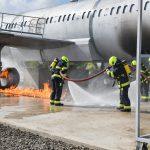 Tűzoltóképző központ átadása a debreceni repülőtéren